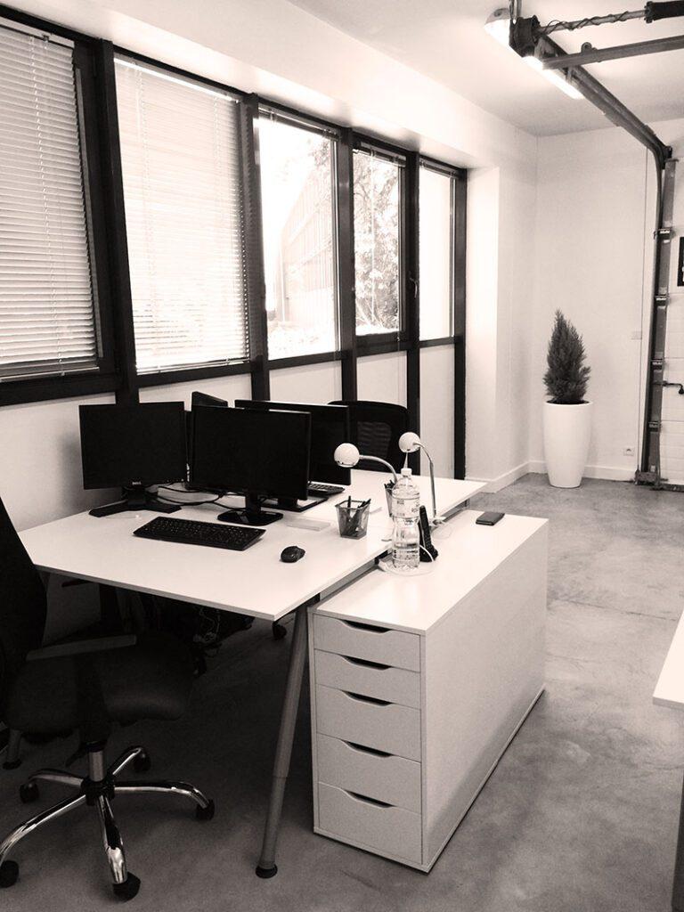 Les premiers bureaux de Waya Tech
