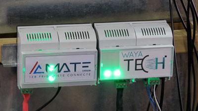 Waya Tech a accompagné AC Mate, premier frigoriste connecté et start-up locale, en termes de développement informatique, d'électronique et de télécommunication.